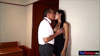 Older Dude Cheating With A Hot Asian Thai Hooker